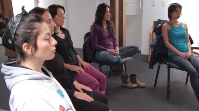 Participants in Migratory Dreams Workshop, Bogotá, 2012_copyright Ximena Alarcón